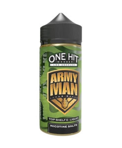 One Hit Wonder - Army Man 100ml Short Fill Eliquid