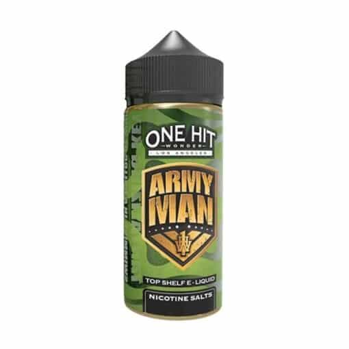 One Hit Wonder - Army Man 100ml Short Fill Eliquid