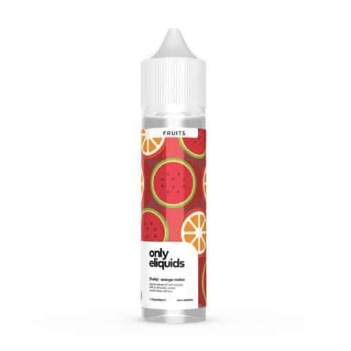 Only Eliquids Fruits - Orange Melon 50ml Short Fill