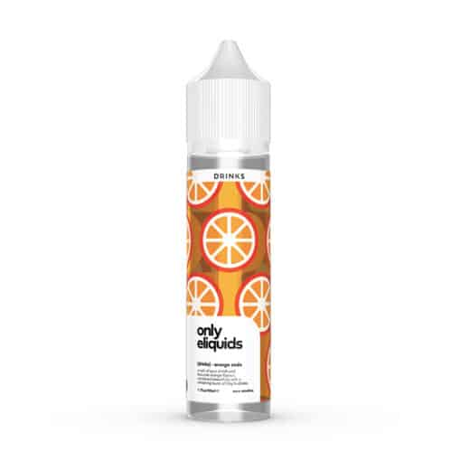 Only ELiquids Drinks - Orange Soda 50ml Short Fill