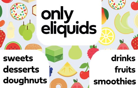 Only Eliquids 50ml Short Fills