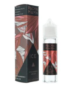 Pacha Mama - Strawberry Jubilee Ice 50ml 0mg Short Fill