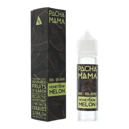 Pacha Mama - Honeydew Melon 0mg Eliquid Short Fill