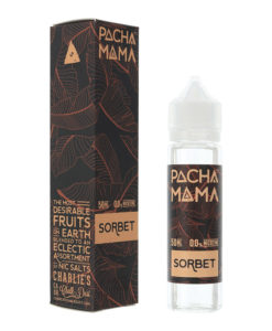 Pacha Mama - Sorbet 0mg Eliquid Short Fill