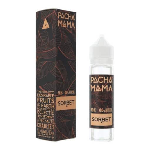Pacha Mama - Sorbet 0mg Eliquid Short Fill