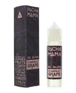 Pacha Mama - Starfruit Grape 0mg Eliquid Short Fill
