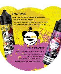 Panda Bomb E-Liquid Flavour Menu