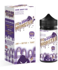 PB & Jam Monster Grape 100ml Eliquid
