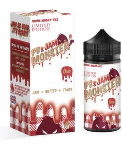PB & Jam Monster Strawberry 100ml Eliquid