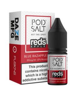 Pod Salt Fusions 7Daze - Blue Razzapple Nic Salt