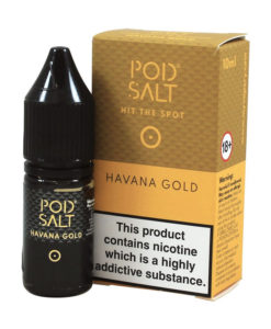 Pod Salt - Havana Gold Nic Salt 20mg
