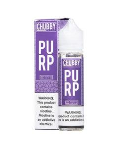 Chubby Bubble - PURP 50ml Short Fill Eliquid