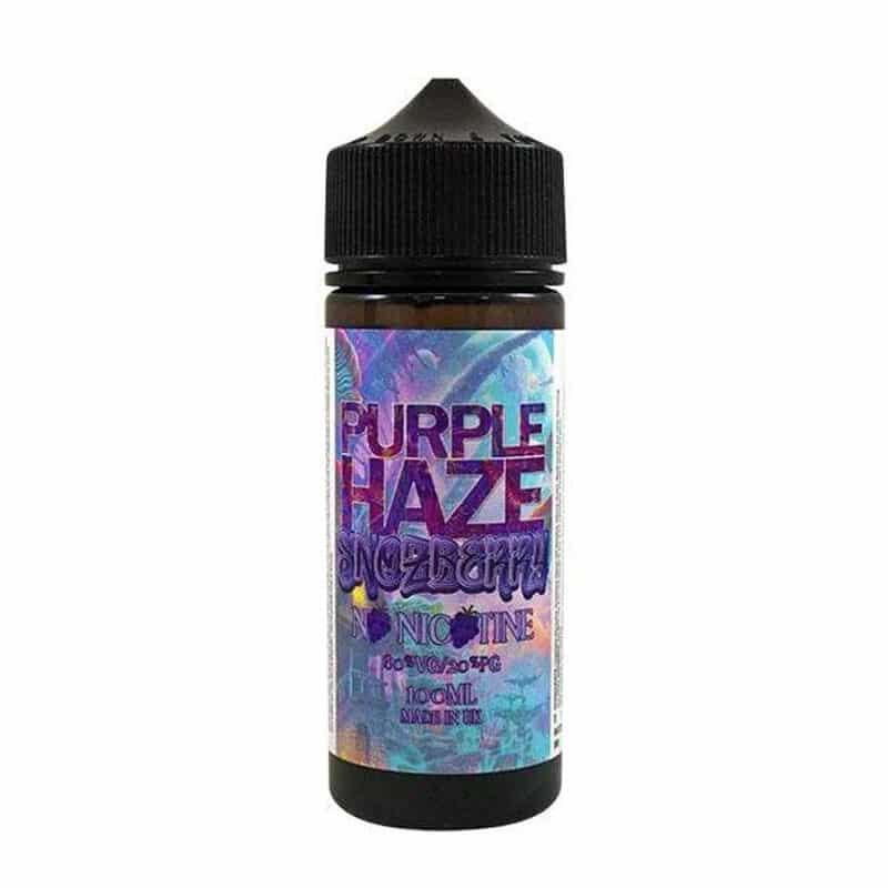 Purple Haze Snozberry 100ml Short Fill Eliquid