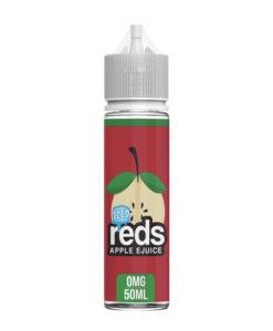 Reds - Apple Iced Ejuice 50ml 0mg Eliquid
