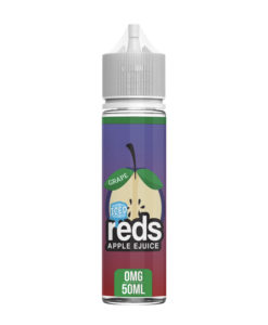 Reds - Grape Iced Ejuice 50ml 0mg Eliquid