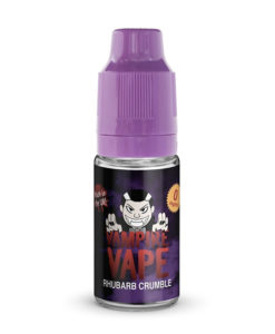 Vampire Vape - Rhubarb Crumble 10ml