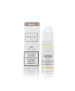 SALT-E - Tobacco 20mg Nic Salt