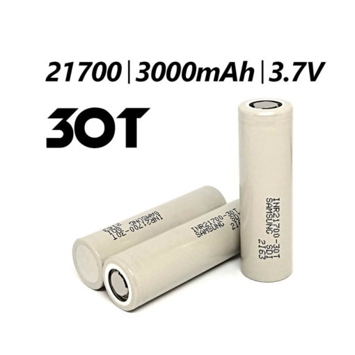 Samsung 30T 21700 Battery 3000mah