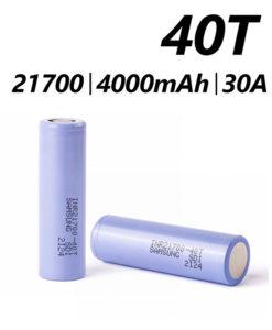 Samsung 40T 21700
