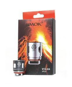 SMOK V12 x4 Coils