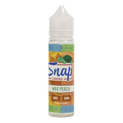 Snap Liquids - Mad Peach 50ml Short Fill Eliquid