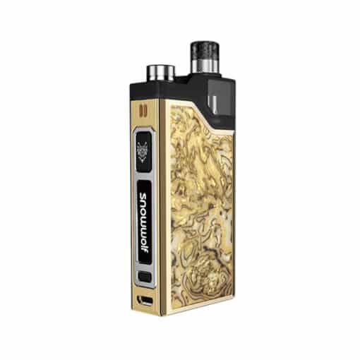 SnowWolf Wocket Pod System - Marble Gold