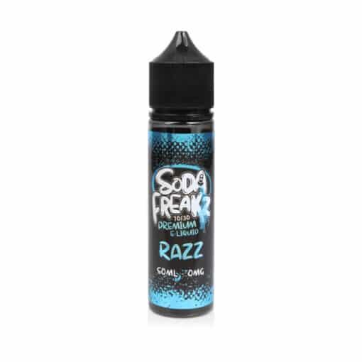 Soda Freakz - Razz 50ml Short Fill Eliquid
