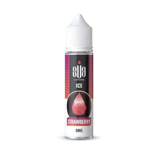 SUA Strawberry Ice 50ml 0mg Short Fill