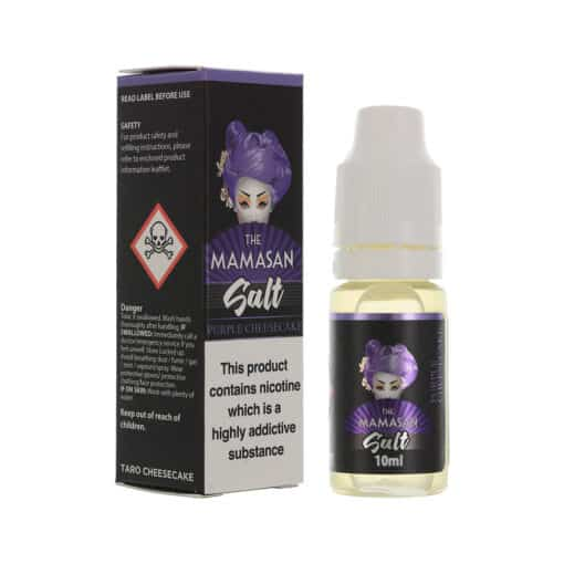 The Mamasan - Purple Cheesecake 20mg Nicotine Salt