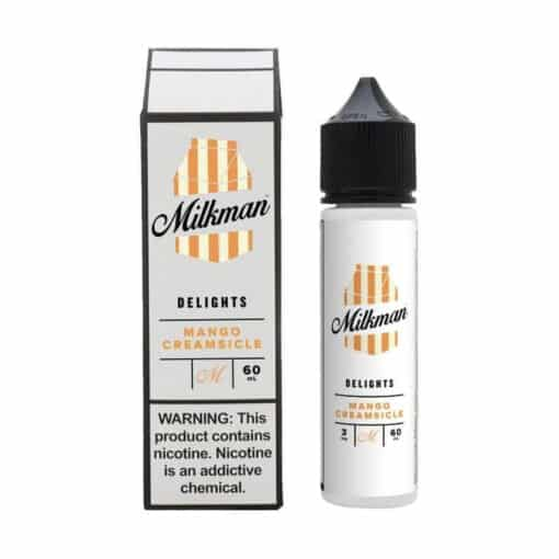 The Milkman Delights - Mango Creamsicle 50ml Short Fill