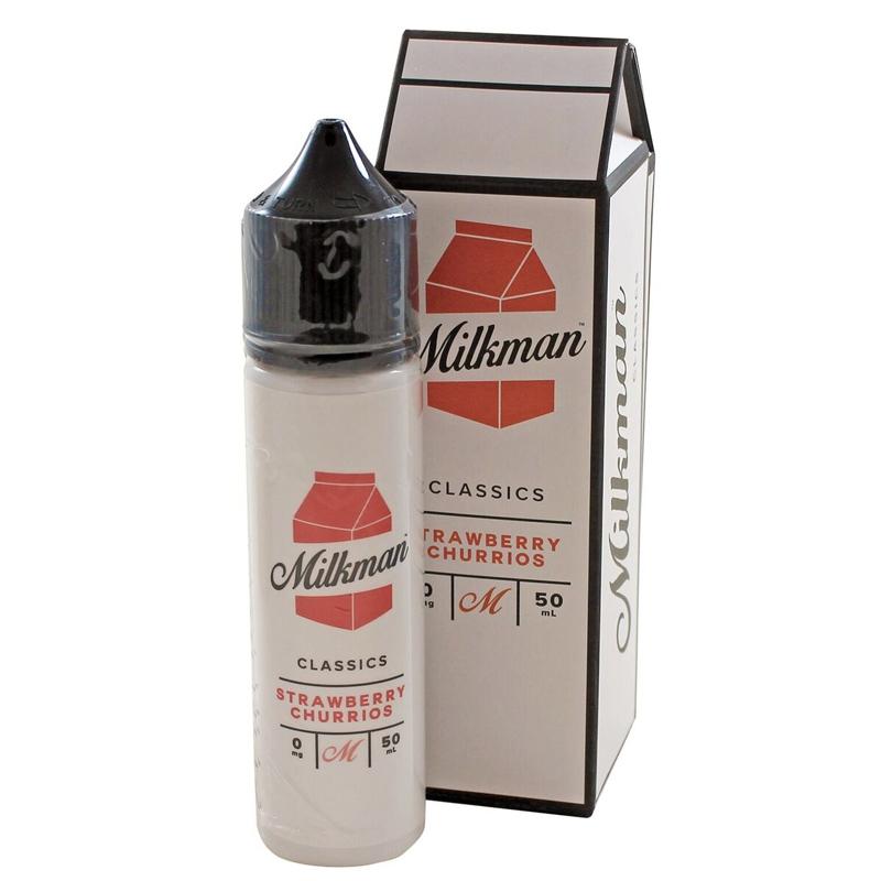 The Milkman Classics - Strawberry Churrios 50ml Short Fill