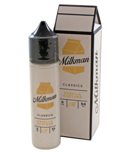 The Milkman Classics - Vanilla Custard 50ml Short Fill