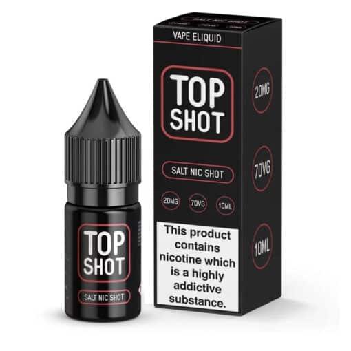 Top Shot 20mg Nic Salt Shot Booster