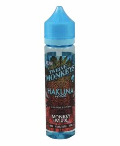 Twelve Monkeys - Hakuna Iced 50ml Short Fill