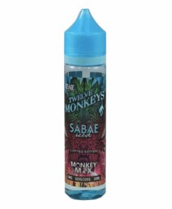 Twelve Monkeys - Sabae Iced 50ml Short Fill