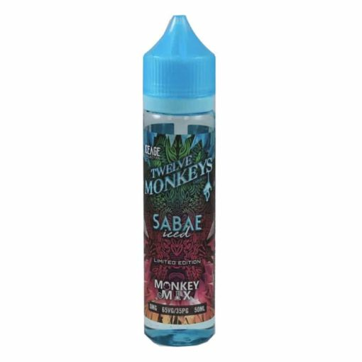 Twelve Monkeys - Sabae Iced 50ml Short Fill