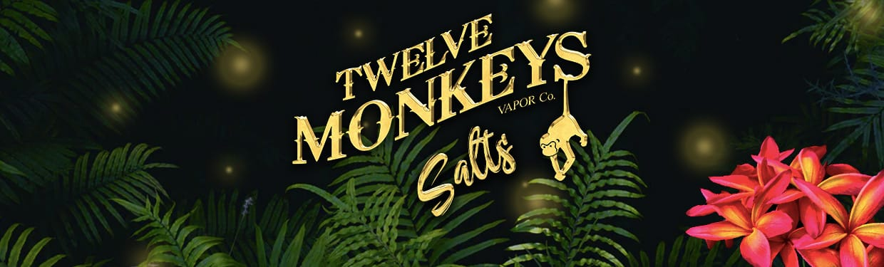 Twelve Monkeys Salts Available Now!