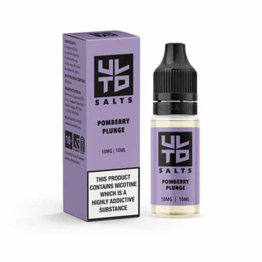 UTLD - Pomberry Plunge Nic Salt Eliquid