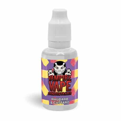 Vampire Vape - Rhubarb & Custard 30ml Concentrate