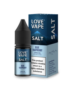Blue Raspberry by Love Vape Salts