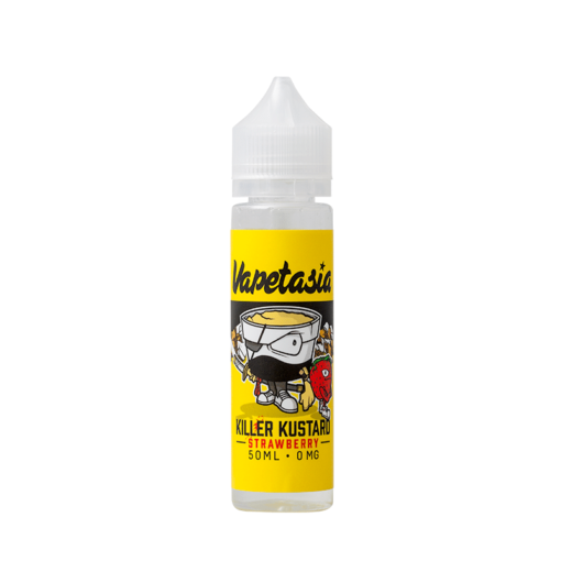 Vapetasia - Strawberry Killer Kustard 50ml Short Fill