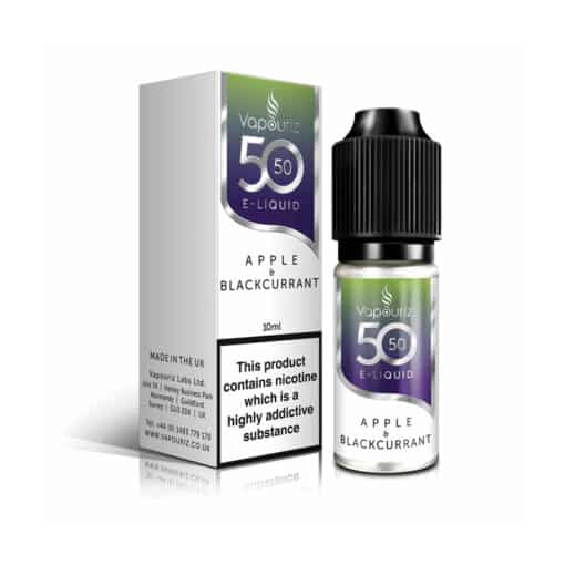 Vaprouiz 5050 - Apple & Blackcurrant 10ml