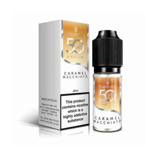 Vapouriz 5050 - Caramel Macchiato 10ml