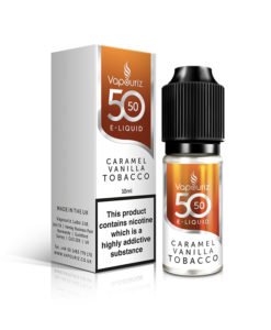 Vapouriz - Caramel Vanilla Tobacco 5050