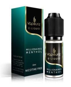 Millionaires Menthol by Vapouriz Premium 5050