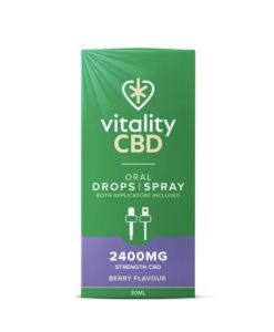vitality cbd berry oral drops and spray