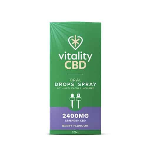 CBD Oral Drops / Spray by Vitality CBD