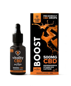 CBD Boost Drops by Vitality CBD: Active