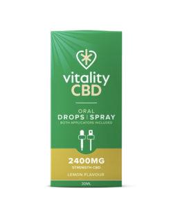 vitality cbd lemon oral drops and spray
