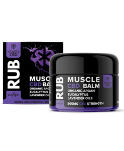 CBD Muscle Rub 300mg by Vitality CBD: Active